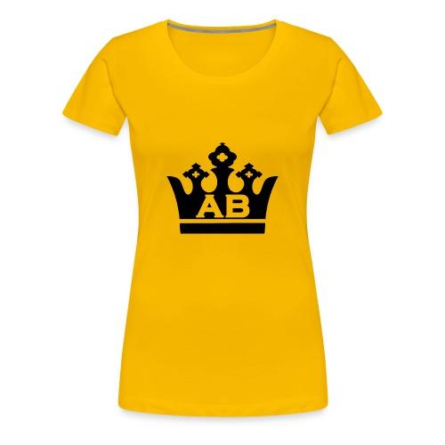 AB Cap - Vrouwen Premium T-shirt