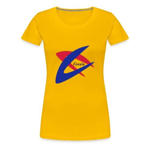 Red/Blue - Women's Premium T-Shirt