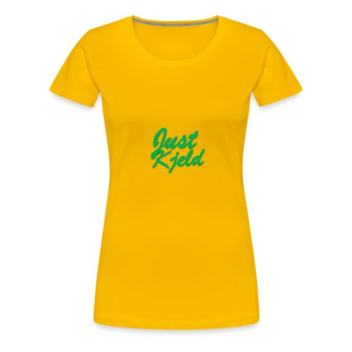 JustKjeld - Vrouwen Premium T-shirt