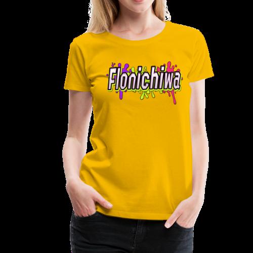 Farbige Action - Flonichiwa - Frauen Premium T-Shirt