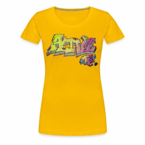 ALIVE TM Collab - Women's Premium T-Shirt