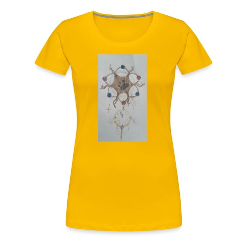 Wolfs dreamcatcher - Frauen Premium T-Shirt