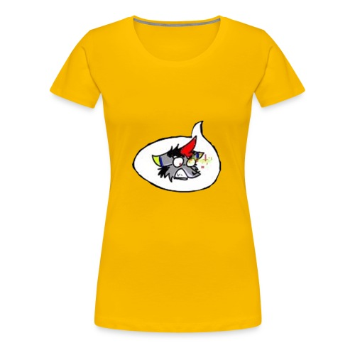 SP//Wolf Form - Women's Premium T-Shirt