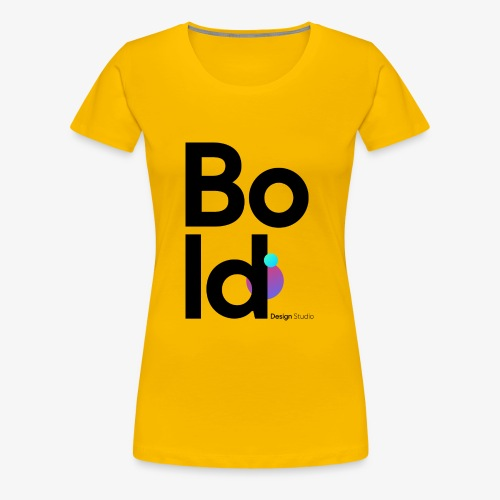 Colored Logo - Frauen Premium T-Shirt