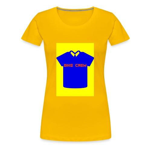 Bike Crew Merch (blau) - Frauen Premium T-Shirt