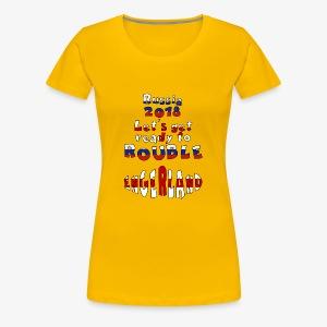 Russia 2018 - Women's Premium T-Shirt