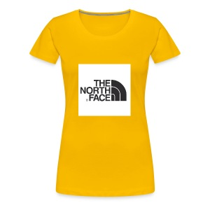 the north face logo - Women's Premium T-Shirt