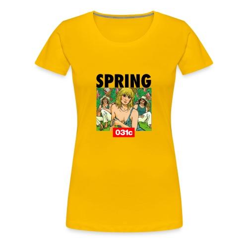 spring - T-shirt Premium Femme