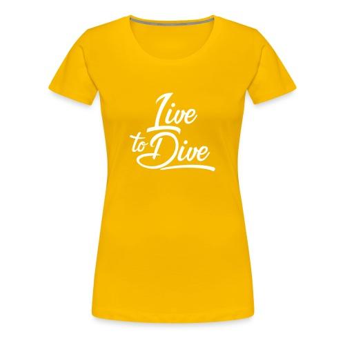 Tauchen - Frauen Premium T-Shirt