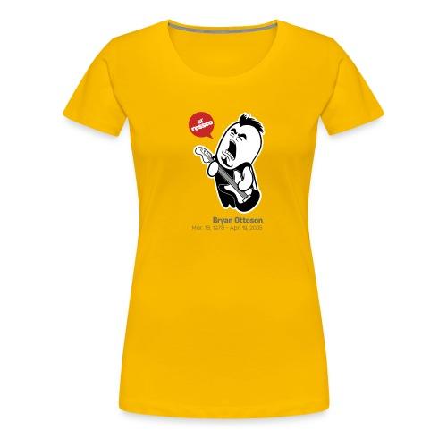 27 Club - Bryan Ottoson Tee Shirt - Women's Premium T-Shirt
