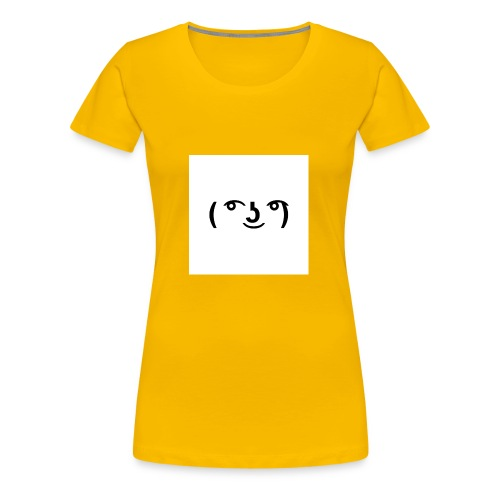 The Lenny face merch - Women's Premium T-Shirt