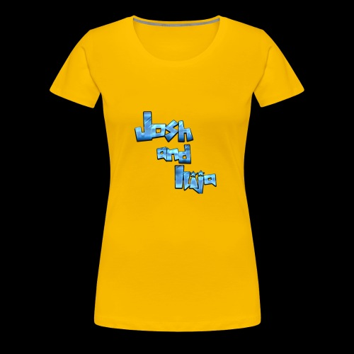 Josh and Ilija - Women's Premium T-Shirt
