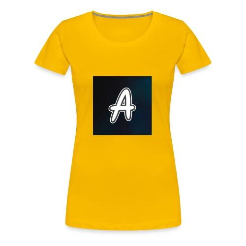 arve logo 2 - Premium T-skjorte for kvinner