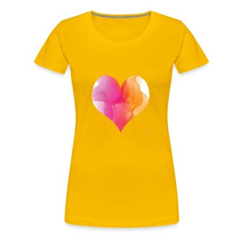 Love Heart Design - Women's Premium T-Shirt