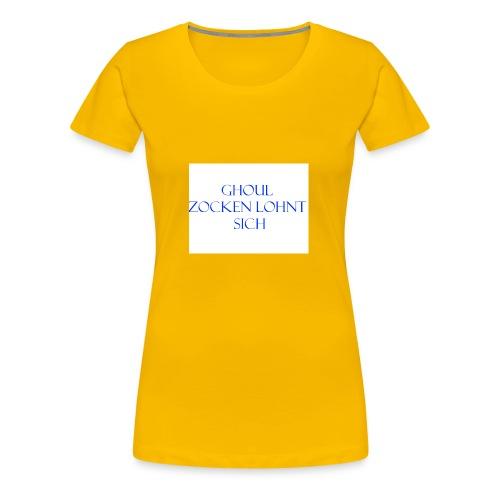 Name+Slogan - Frauen Premium T-Shirt