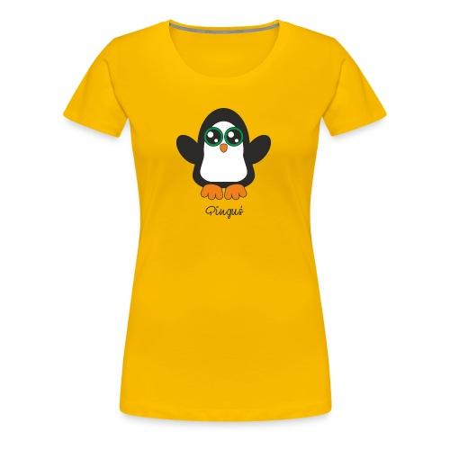 Pinguś - Koszulka damska Premium