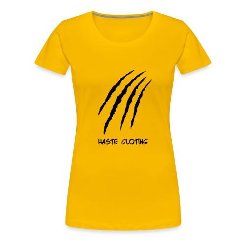 Haste - Frauen Premium T-Shirt