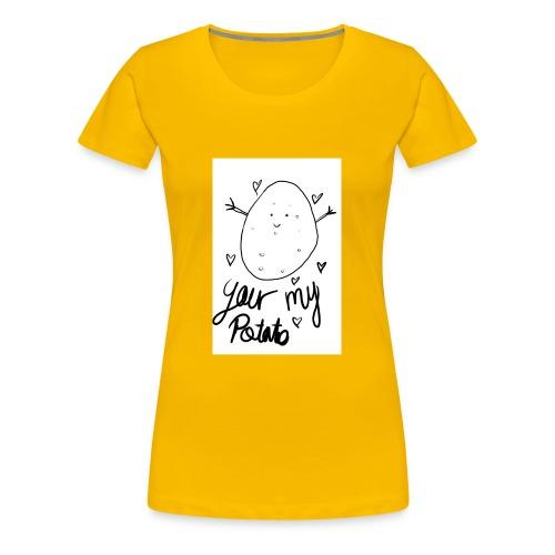 Potato - Premium-T-shirt dam