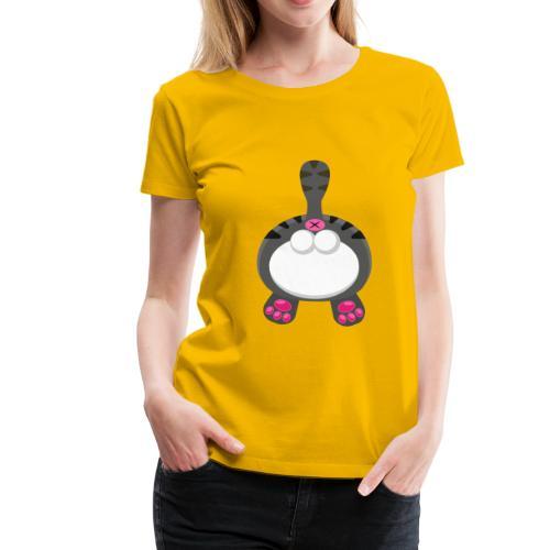 Katzen PoPo - Frauen Premium T-Shirt