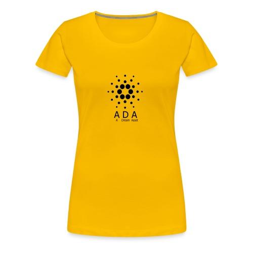 A Dream Asset Cardano - Frauen Premium T-Shirt