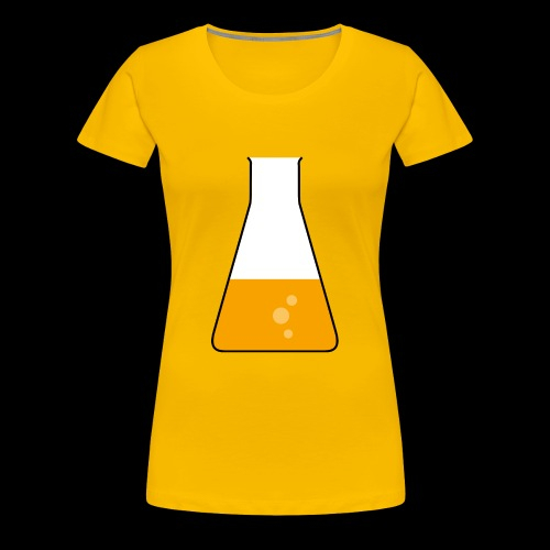 Erlenmeyerkolben - Frauen Premium T-Shirt