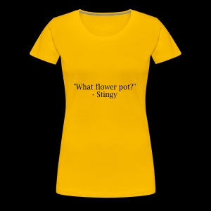 stingy quote - Women's Premium T-Shirt