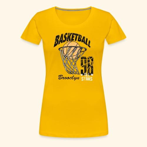 Broclyn alle Stars Basketball .Eine Geschenkidee - Frauen Premium T-Shirt