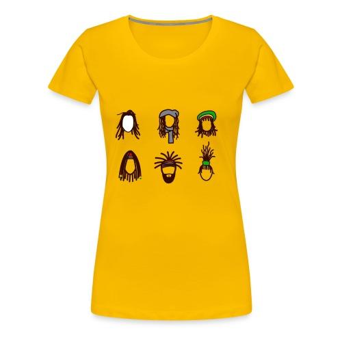 printmasta Smart - Dame premium T-shirt