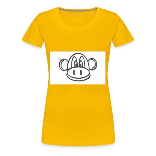 stencil2 - Dame premium T-shirt
