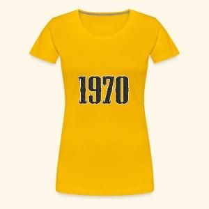 1970 - Vrouwen Premium T-shirt