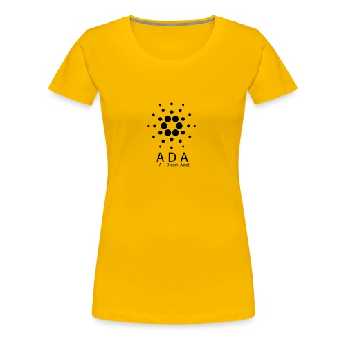 A Dream Asset Cardano - Frauen Premium T-Shirt