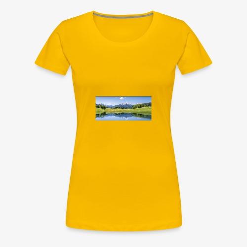 A9F057CE 0239 4C12 A5E4 D5544A3B7027 - Frauen Premium T-Shirt