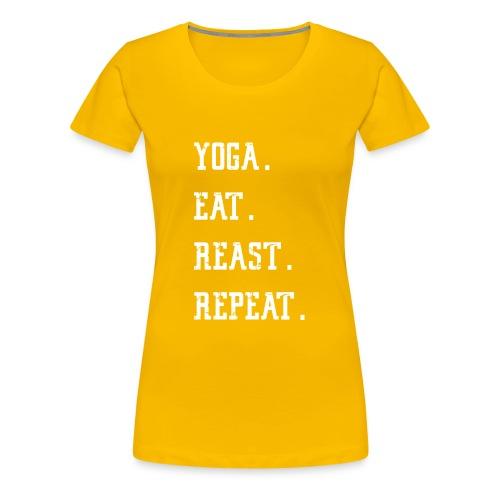 Gym Fitness Shirt for men and women – Yoga - Frauen Premium T-Shirt