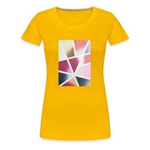 Farbige Kunst - Frauen Premium T-Shirt
