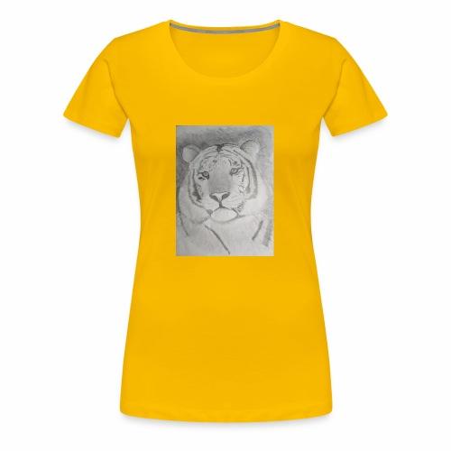 tiger art - Women's Premium T-Shirt