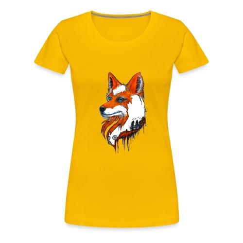 David Pucher Art Fuchs - Frauen Premium T-Shirt