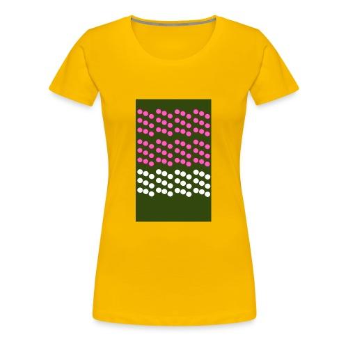 retrospotty - Women's Premium T-Shirt