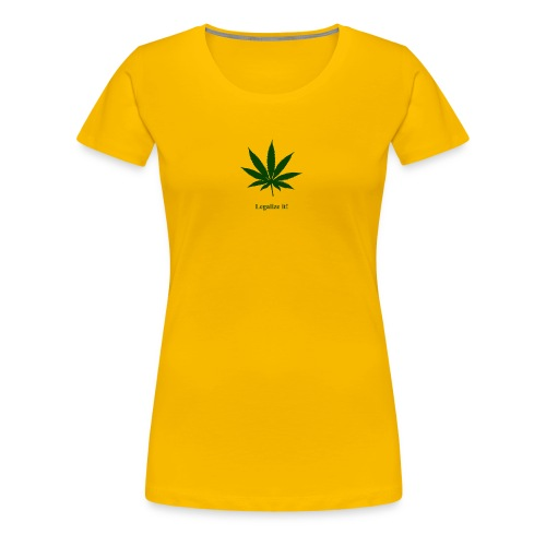 Legalize it Green - Frauen Premium T-Shirt