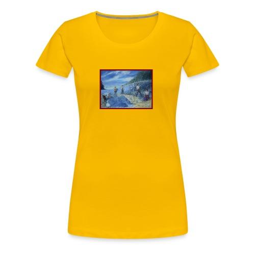 Les cueilleurs de lavande 73x54 2011 - T-shirt Premium Femme