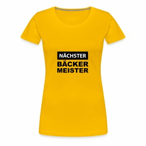 baecker - Frauen Premium T-Shirt