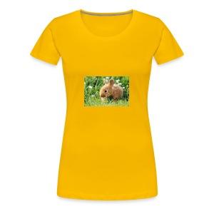 SWEET RABBIT - Premium-T-shirt dam