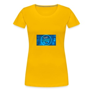 Ter Three official YouTube profile picture - Women's Premium T-Shirt
