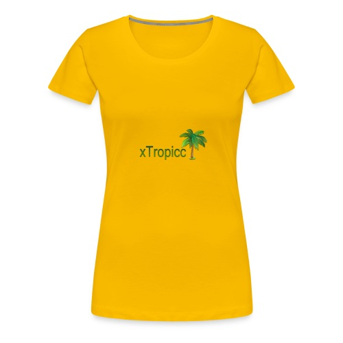 tropicc - T-shirt Premium Femme