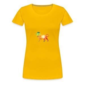 lion - Vrouwen Premium T-shirt