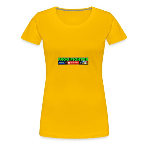 channel time - Women's Premium T-Shirt