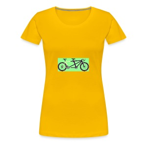 Llum Design 2RDisc Tandem BikeCAD - Vrouwen Premium T-shirt