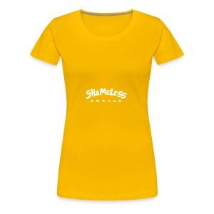 shameless - Vrouwen Premium T-shirt