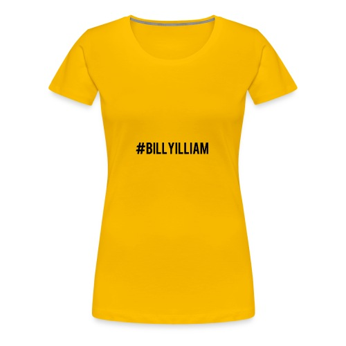 Billyilliam - Women's Premium T-Shirt