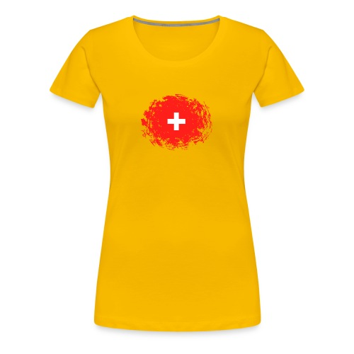 Swiss Spirit Collection - T-shirt Premium Femme
