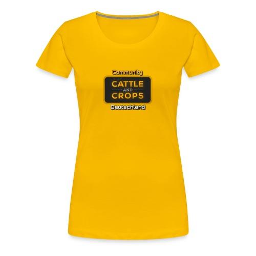 CnC.Comm - Frauen Premium T-Shirt